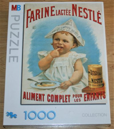 Image of the puzzle 1000, MB, Farine Lactée Nestle, Factory Sealed