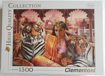 Image of the puzzle 1500, Clementoni, Indian Princess, Factory Sealed