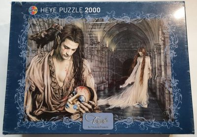 Image of the puzzle 2000, Heye, Tears, by Victoria Francés, Factory Sealed, Picture of the box