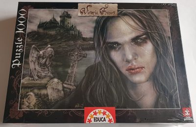 Image of the puzzle 1000, Educa, Tears on Ice, by Victoria Francés, Factory Sealed