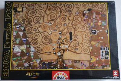 Image of the puzzle 1500, Educa, The Tree of Life, by Gustav Klimt, Factory Sealed