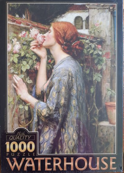 Image of the puzzle 1000, D-Toys, The Soul of the Rose, by J.W. Waterhouse, Factory Sealed