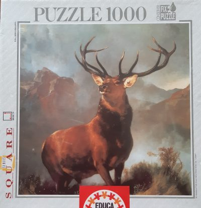 Image of the puzzle 1000, Educa, Monarch of the Glen, by Edwin Landseer
