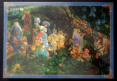 Image of the puzzle 1000, Jumbo, Royal Processional, by James Christensen, Factory Sealed