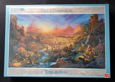 Image of the puzzle 1000, Jumbo, The Commission, by Tom duBois, Factory Sealed