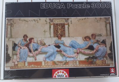 Image of the puzzle 3000, Educa, Interlude, by William Reynolds-Stephens, Factory Sealed