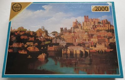 Image of the puzzle 2000, Falcon, The Buildings of the National Trust, Factory Sealed