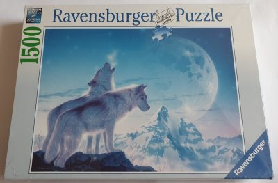 Image of the puzzle 1500, Ravensburger, Howl at the Moon, by Kentaro Nishino, Factory Sealed