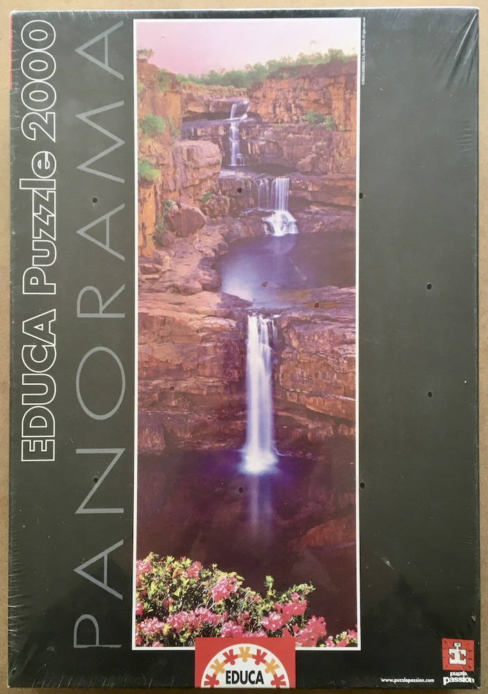 Image of the puzzle 2000, Educa, Mitchell Falls, Australia, Factory Sealed