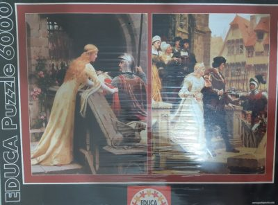 Image of the puzzle 6000, Educa, Collage, by Edmund Blair Leighton, Factory Sealed