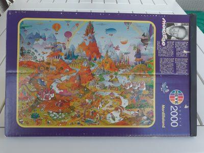 Image of the puzzle 2000, Heye, Mordilloland, Guillermo Mordillo, Sealed Bag, Picture of the box