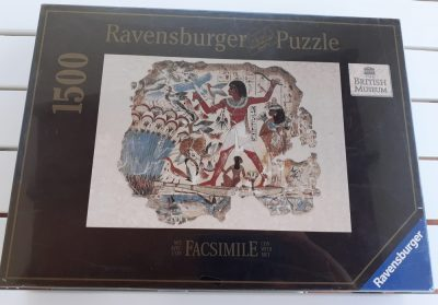 Image of the puzzle 1500, Ravensburger, Nebamun Hunting in the Marshes, Factory Sealed