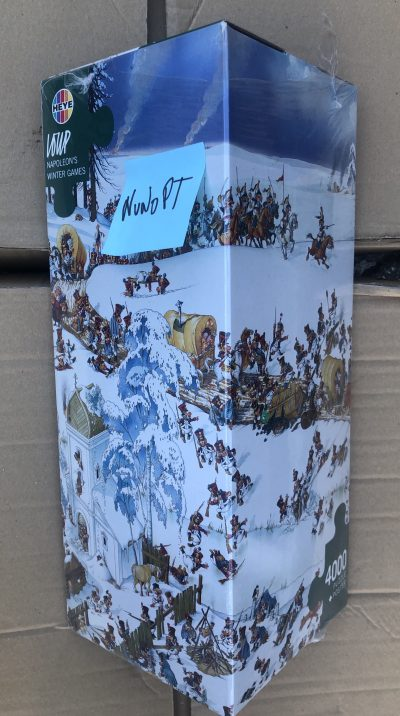 Image of the puzzle 4000, Heye, Napoleons Winter Games, by Loup, Factory Sealed