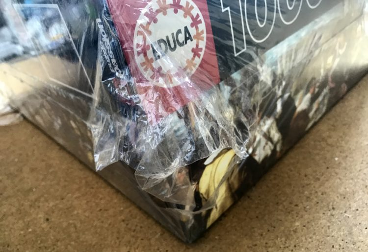 Image of the puzzle 10000, Educa, The Surrender of Breda, by Diego Velázquez, Factory Sealed, Detail of the box