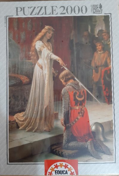 Image of the puzzle 2000, Educa, The Accolade, Edmund Blair Leighton, Factroy Sealed