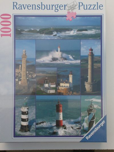 Image of the puzzle 1000, Ravensburger, Lighthouses in Brittany, Factory Sealed