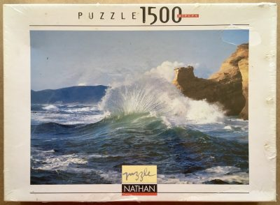 Image of the puzzle 1500, Nathan, Sea Spray, by Richard Johnston, Factory Sealed