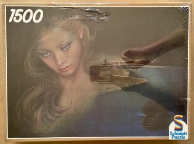 Image of the puzzle 1500, Schmidt, Melancholy, by Joy Caros, Factory Sealed
