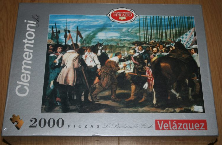 Image of the puzzle 2000, Clementoni, The Surrender of Breda, by Diego Velázquez, Factory Sealed