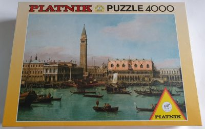Image of the puzzle 4000, Piatnik, Piazzetta Bacino di San Marco in Venedig, by Canaletto