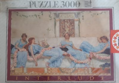 Image of the puzzle 3000, Educa, Interlude, William Reynolds-Stephens, Factory Sealed, Picture of the box