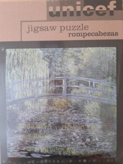 Image of the puzzle 1200, Unicef, The Water Lily Pond, by Claude Monet, Factory Sealed
