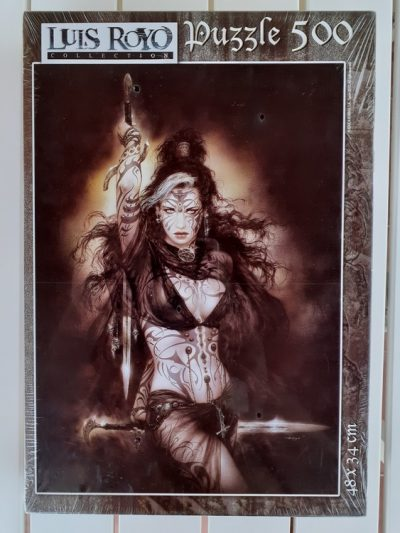 Image of the puzzle 500, Educa, Satis Dance, by Luis Royo, Factory Sealed