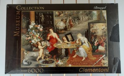 Image of the puzzle 6000, Clementoni, Allegory of Sight and Smell, Brueghel