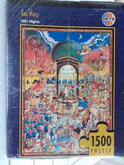 Image of the puzzle 1500, Heye, 1001 Nights, Hugo Prades, Factory Sealed