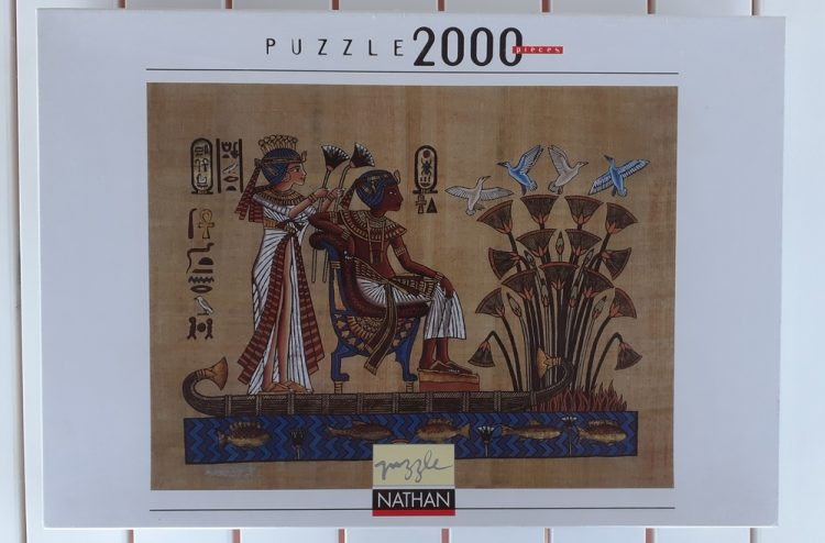 Image of the puzzle 2000, Nathan, The Pharaoh and his Wife