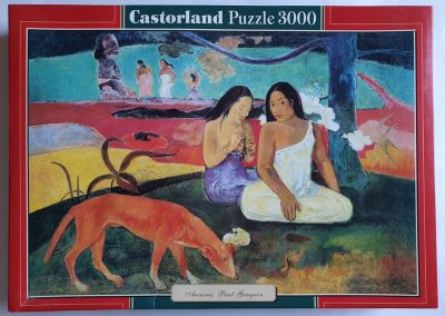 Image of the puzzle 3000, Castorland, Arearea, by Paul Gauguin, Factory Sealed, Picture of the box