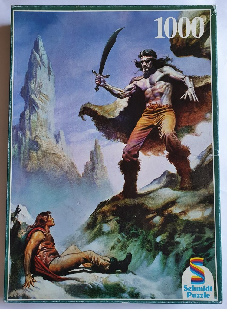 Image of the puzzle 1000, Schmidt, Berserker, Sealed Bag, Picture of the box