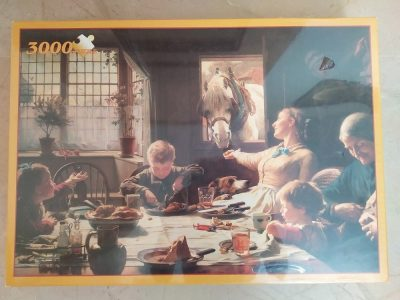 Image of the puzzle 3000, Fame, One of the Family, Frederick George Cotman, Factory Sealed