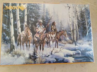 Image of the puzzle 3000, Fame, Winter Pass, Kirk Randle, Factory Sealed, Picture of the box