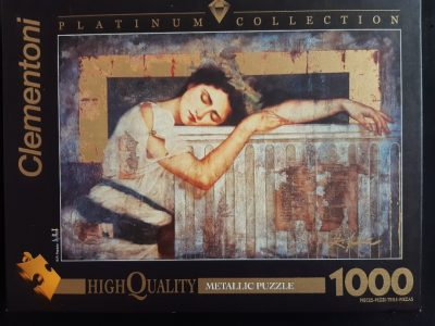 Image of the puzzle 1000, Clementoni, Sleeping Fortune, Richard Franklin, Sealed Bag, Picture of the box