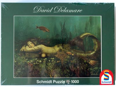 Image of the puzzle 1000, Schmidt, The Gypsy Medina, David Delamare, Factory Sealed