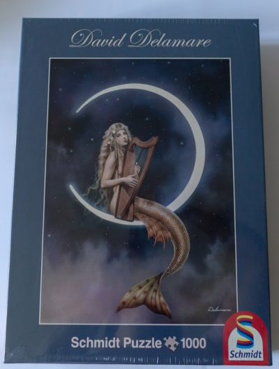 Image of the puzzle 1000, Schmidt, Music of the Spheres, David Delamare, Factory Sealed