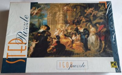Image of the puzzle 1500, Step, Garden of Love, Peter Paul Rubens, Factory Sealed, Picture of the box