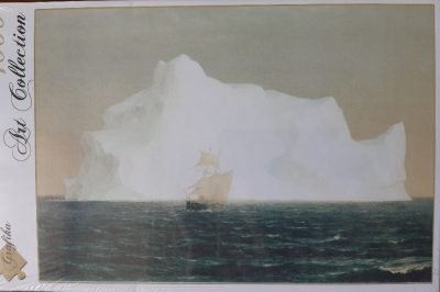 Image of the puzzle 1000, Grafika, The Iceberg, by Frederic Edwin Church, Factory Sealed