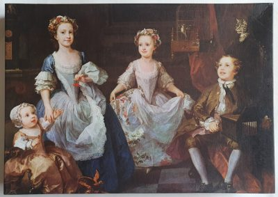 Image of the puzzle 1000, Falcon, The Graham Children, William Hogarth. Picture of the box.