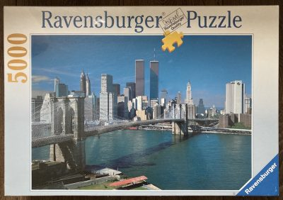 Image of the puzzle 5000, Ravensburger, New York City, Factory Sealed
