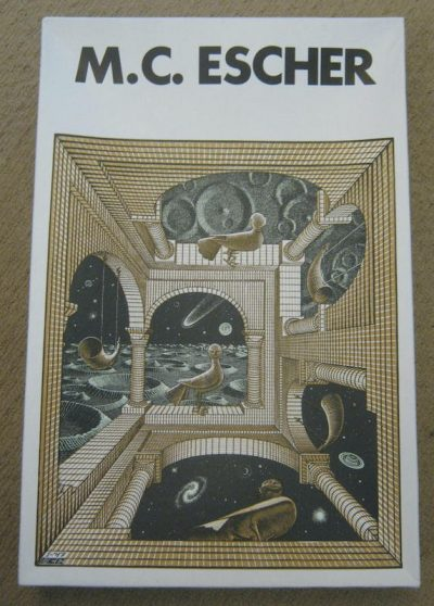 Image of the puzzle 1000, Selegiochi, Another World, by Escher, Sealed Bag, Picture of the box