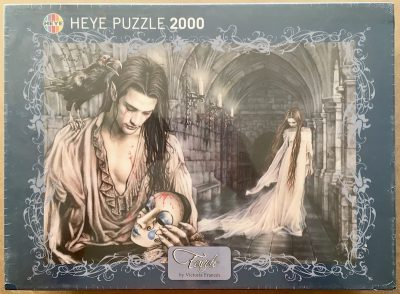 Image of the puzzle 2000, Heye, Tears, by Victoria Francés, Factory Sealed, 2020-08-26