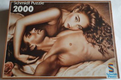 Image of the puzzle 2000, Schmidt, Secret Love, Factory Sealed, Picture of the box