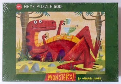 Image of the puzzle 500, Heye, Monster Punch, Michael Slack, Factory Sealed