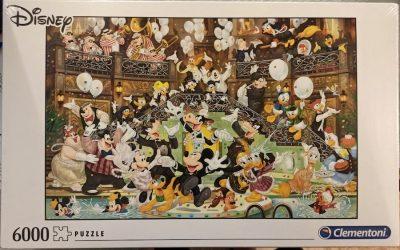 Image of the puzzle 6000, Clementoni, Disney Gala, Factory Sealed