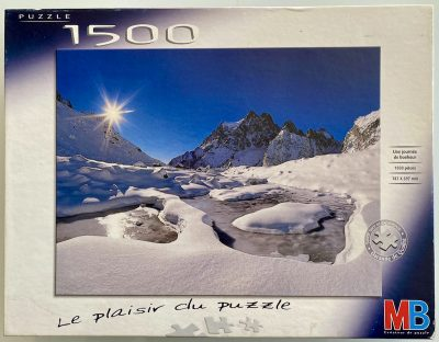 Image of the puzzle 1500, MB, A Day of Happiness, Bertrand Bodin, Sealed Bag, Picture of the box
