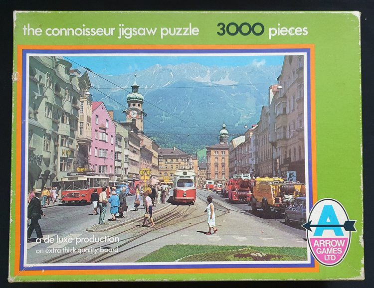 Image of the puzzle 3000, Arrow, The Connoisseur Jigsaw Puzzle 5461. Picture of the box.