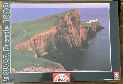 Image of the puzzle 1500, Educa, Skye Island, Scotland, Factory Seled