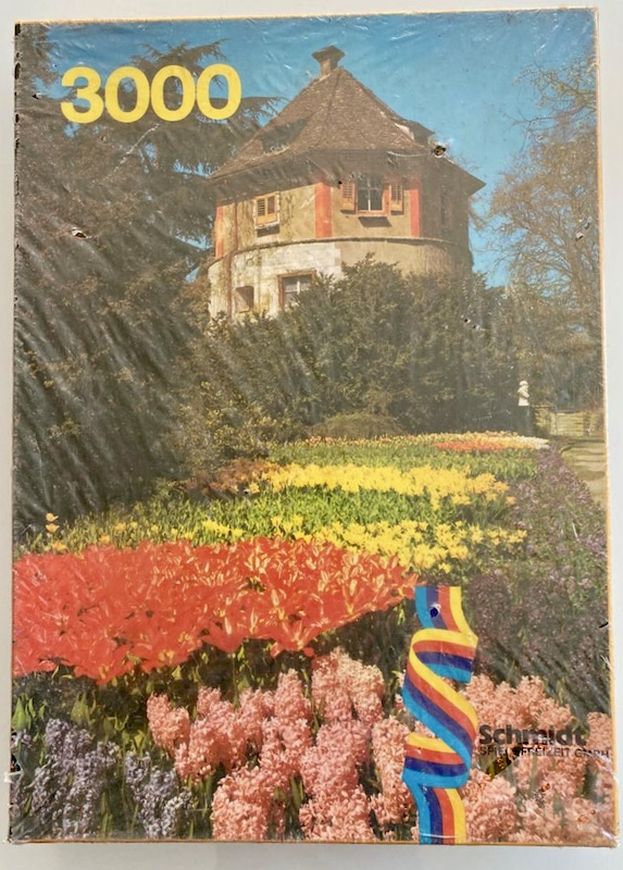 Image of the puzzle 3000, Schmdit, Mainau, Factory Sealed